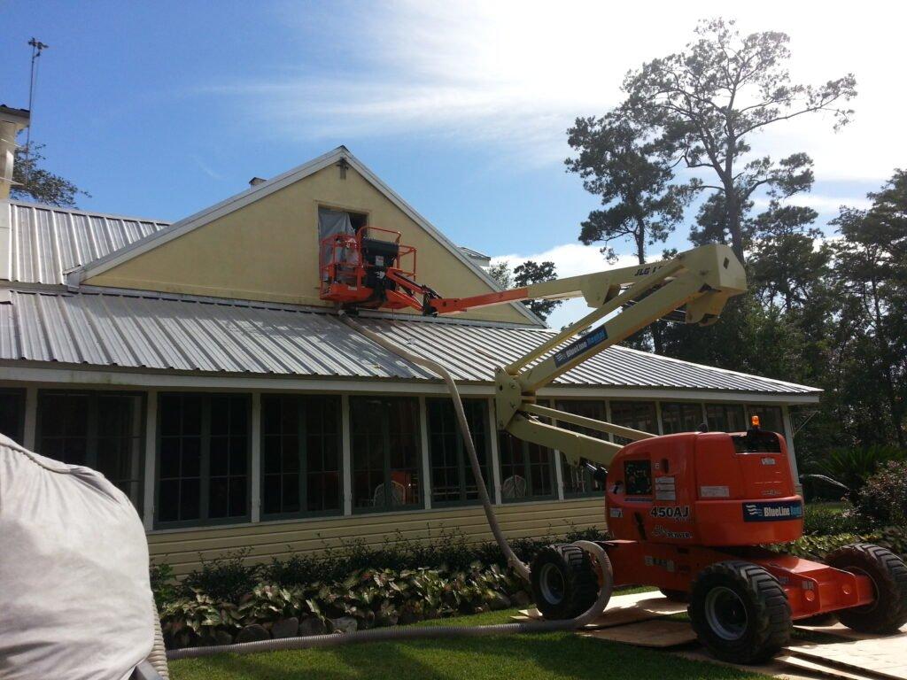 photo of bat removal in Covington Louisiana
